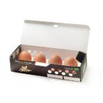 Uova Biologiche – scatola da 12 confezioni (4 uova per confezione), 48 Uova totali